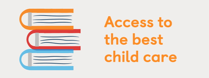 Access the best child care