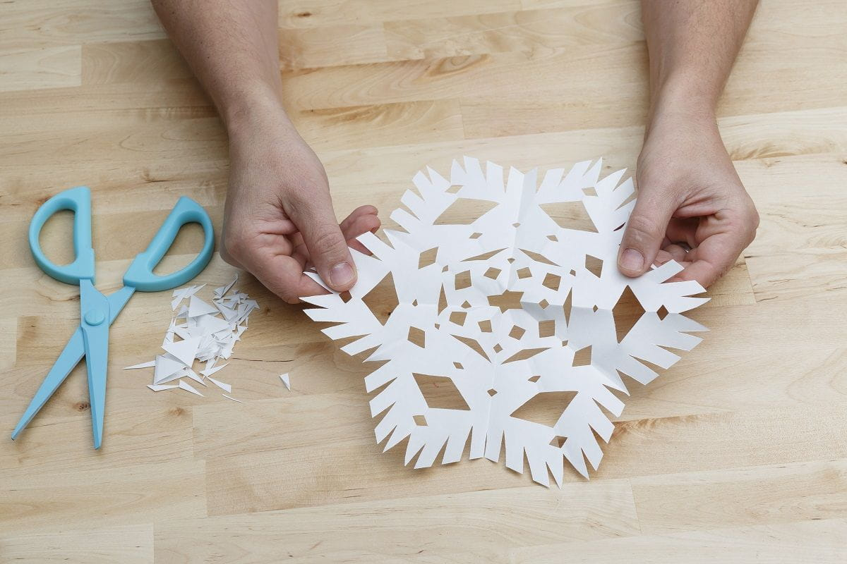 step 7 unfolding the snowflake