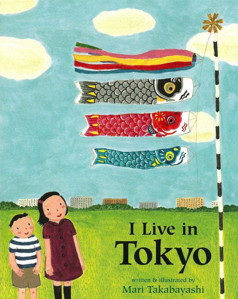 I Live in Tokyo cover