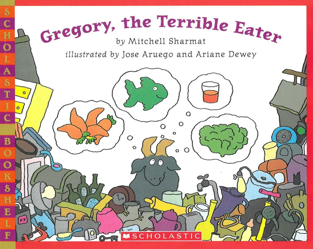 Gregory the Terrible Eater cover