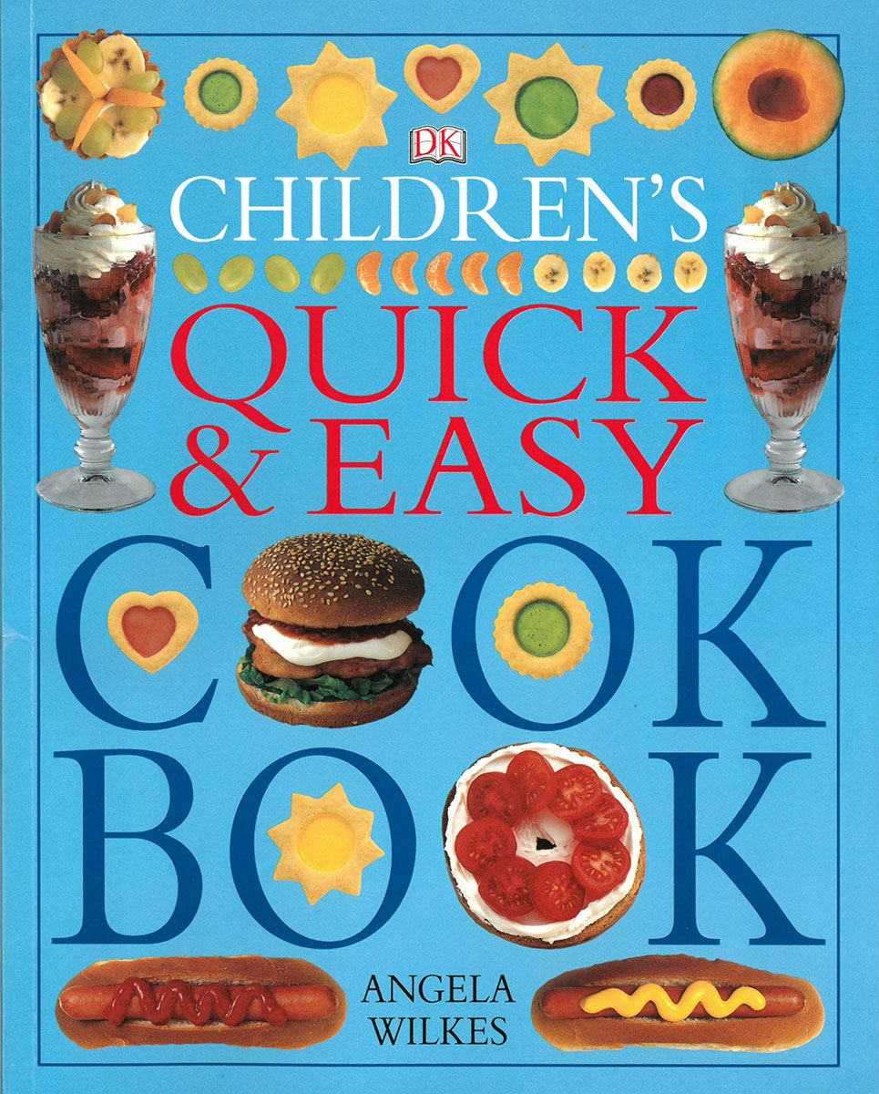 Childrens Quick and Easy Cookbook cover