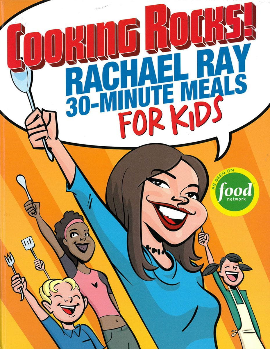 Rachael Ray cookbook cover