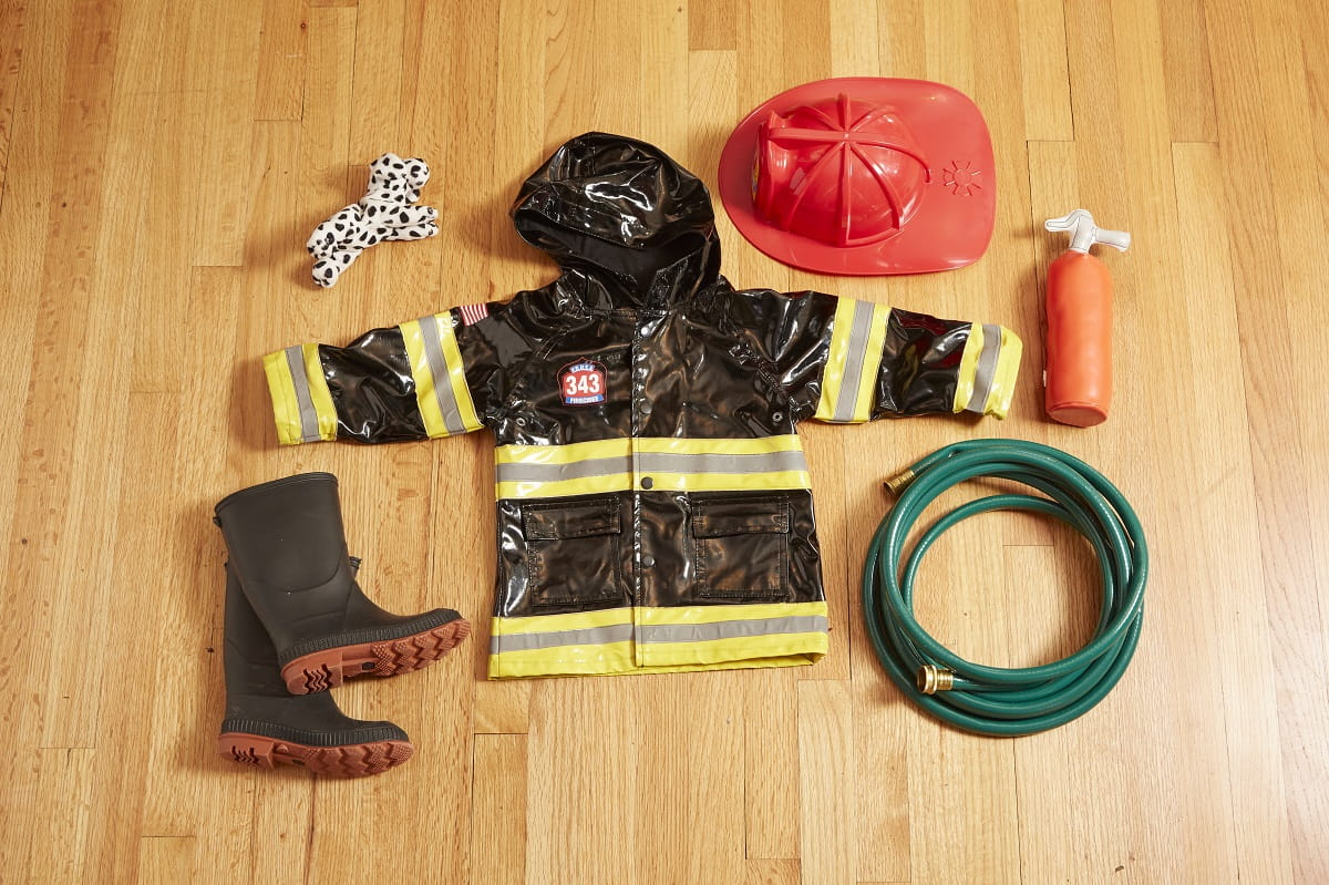 Imaginative Play Firefighter Props