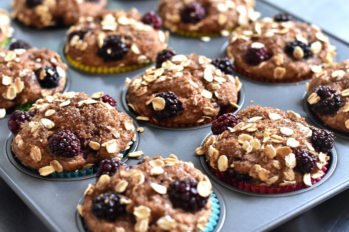 blackberry muffin hero