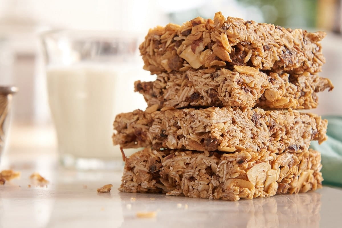 hero granola bar closeup