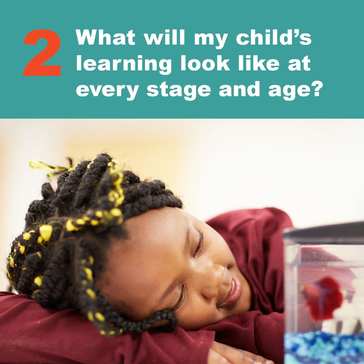 learning at each stage and age