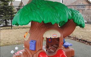 A fun sized tree for our youngest explorers!
