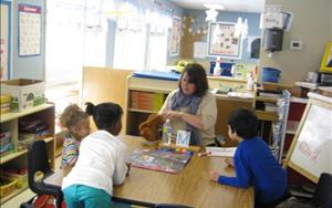Learning Adventures Phonics class with Ms. Chris