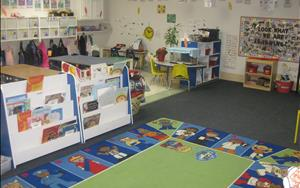 This is our 4K Classroom, in collaboration with the Howard/Suamico school district.