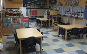 The VPK classroom is set up to prepare your student for Kindergarten. We fine tune our writing skills, enhance our vocabulary, and multiply our math skills in an interactive way that keeps learning fun!
