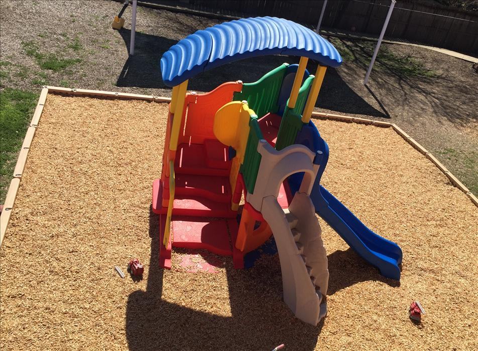 Enjoy our brand-new play structure!
