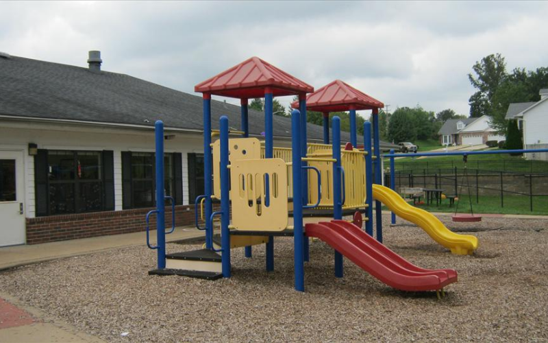 Preschool, Prekindergarten, and School Age Playground