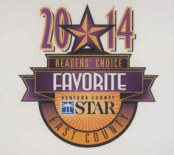 Ventura County Star Readers Choice Favorite