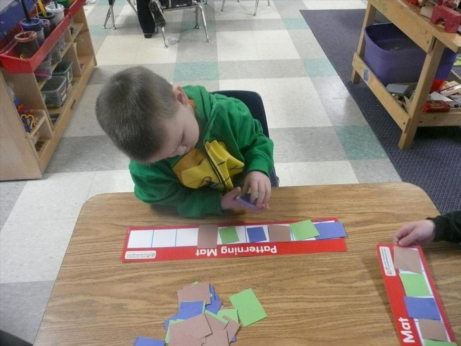 Our PreKindergarteners further develop their math skills by performing simple addition and subtaction, arranging objects according to size, and creating simple patterns.
