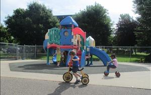 This is our larger playground and equipment