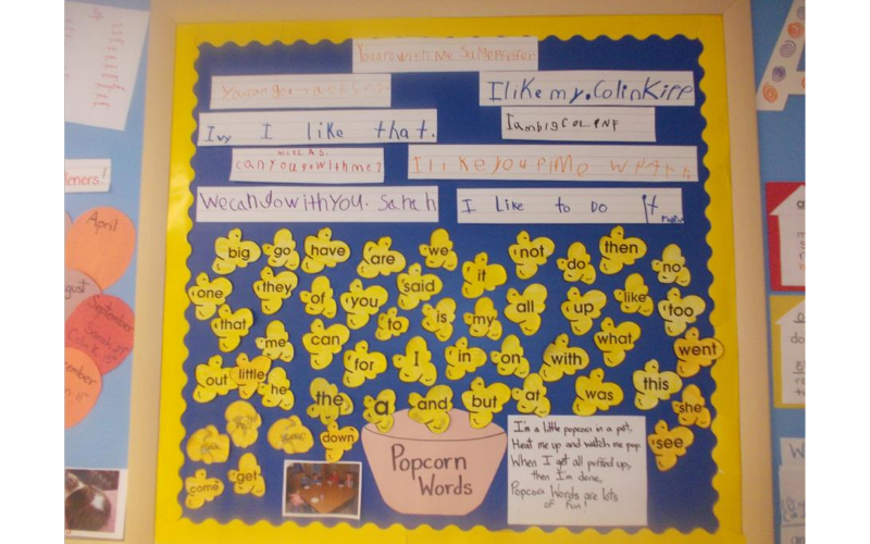 Kindergarten Display