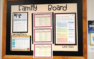 Infant A Family Board
