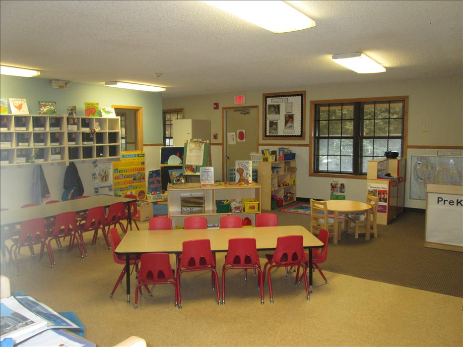 Our PreKindergarten classroom cares for 4 to 5 year olds.