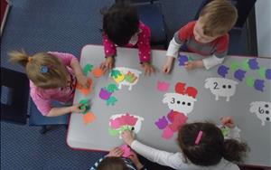 Our Discovery Preschool is enriched daily opportunities to practice newly learned academic skills.