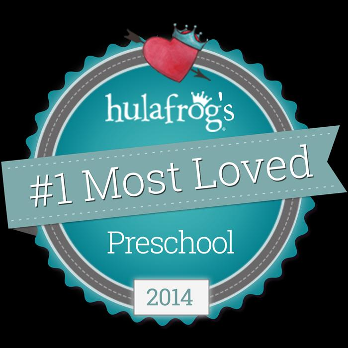#1 Most Loved Preschool on HulaFrog Southern Monmouth