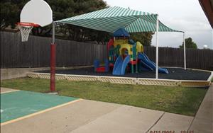 Preschool, Pre-K, and School Age playground