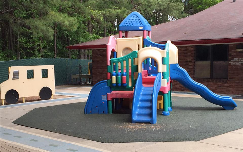 Our Preschool playground designed for ages 3  and up offers various opportunities to enhance all of their skills!