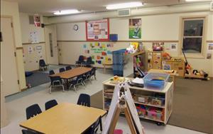 Toddler and Discovery Preschool Classroom