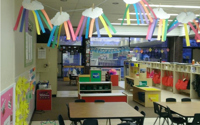 The Preschool classroom is designed for 3 year olds and young 4 year olds.  The Early Foundations Preschool curriculum enhances childrens' confidence by providing activities to help children become problem solvers and lifelong learners.