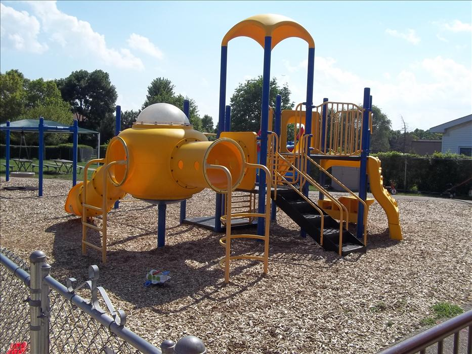 Playground for our Preschool through School Age Programs
