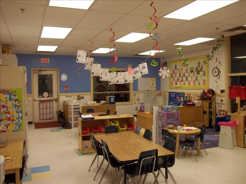 Private Kindergarten Classroom