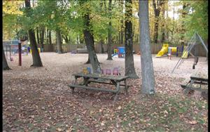 Playground and picnic area.