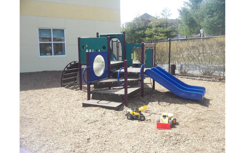 Preschool, Prekindergarten, Kindergarten, and School Age Playground