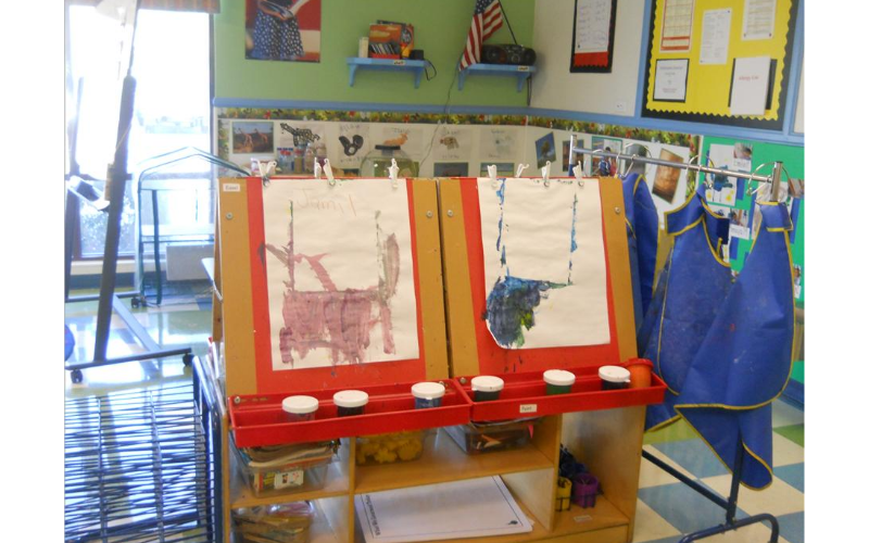 Prekindergarten Creative Arts: Hands-on experiences that encourage independent, creative learning.