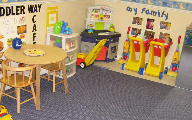 Toddler Classroom Dramatic Play