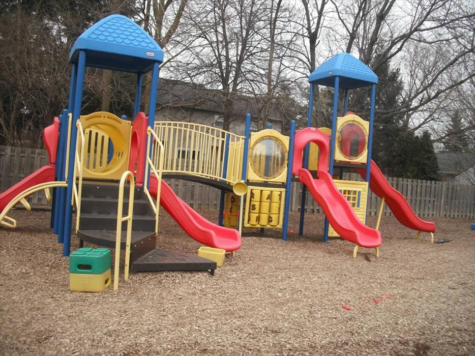 Preschool,Prekindergarten and School Age Playground