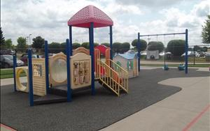 Toddlers and Twos Playground, for children 16-24 months old.