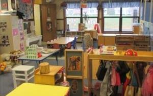 Early Preschool classroom