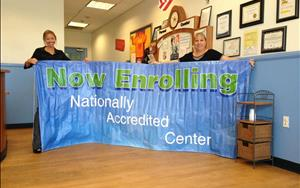 Nationally Accredited Center!