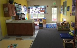 Young Todder classroom ages 12- 17 months