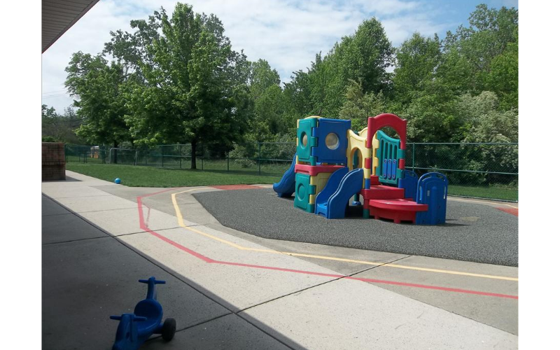 Infant, Toddler, and Discovery Preschool Playground