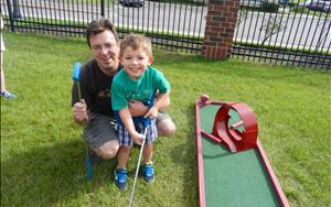 MiniGolf with Dad!