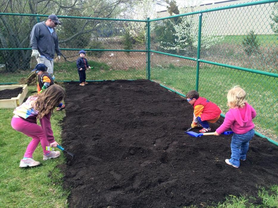 Volunteer Gardening day at our Very own Organic Vegetable Garden!