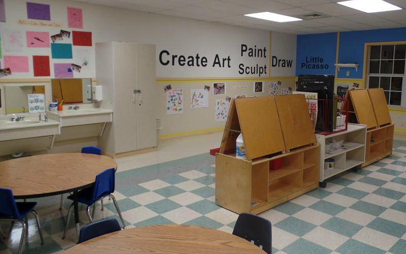 Art and Creative Play Area