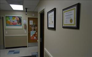 We proudly display our National Accreditation awards!