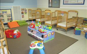 Now enrolling in our older infant classroom.