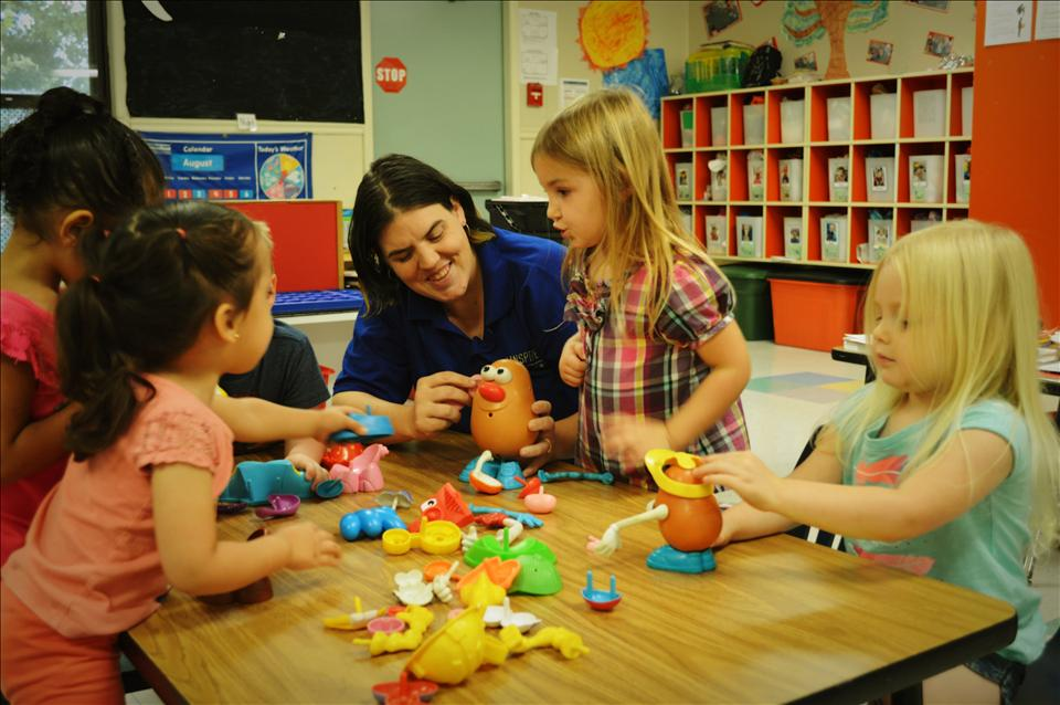 Preschoolers at KinderCare Winter Springs have an insatiable desire to learn. Children are provided activities that encourage exploration and discovery. This approach gives children the freedom to solve problems as they develop skills in reading, math, and science.