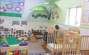 Come see our Brand New Infant room!!