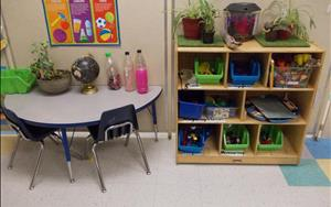 Pre Kindergarten Science Area