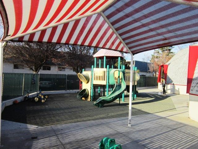 Pre-K, Kindergarten and School-Age Playground