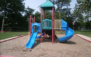 School Age, Pre-K, and Preschool playground.